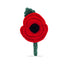 The Poppy Collection ® Crochet Poppy Brooch