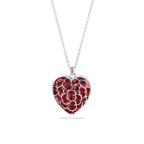 Poppy Locket Necklace