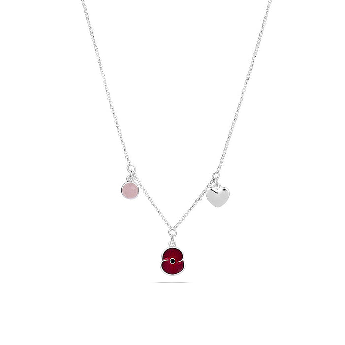 Poppy Charm Necklace