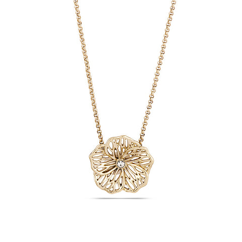 Filigree Poppy Necklace