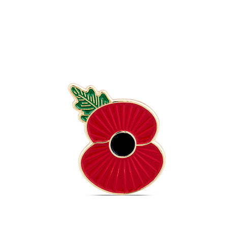 Ridge Poppy Lapel Pin