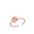 Rose Gold Petaled Poppy Ring