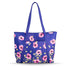 Blue Poppy Meadow Shopper Bag