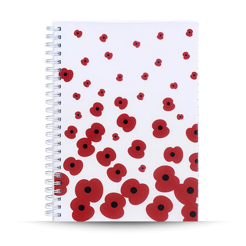 Falling Poppy Notepad