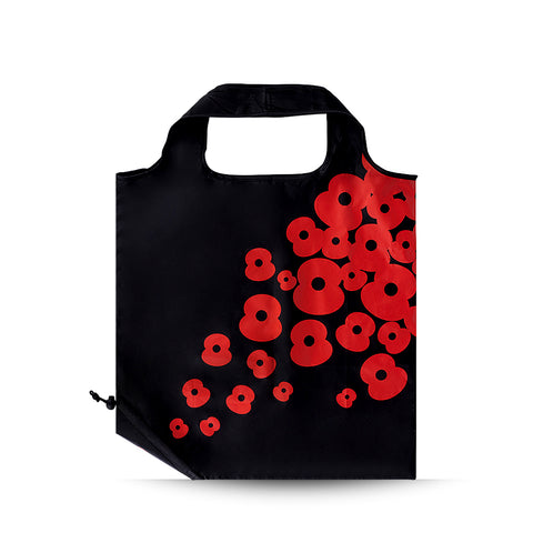 Poppy Folding Pouch Bag