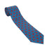 Blue Poppy Silk Tie