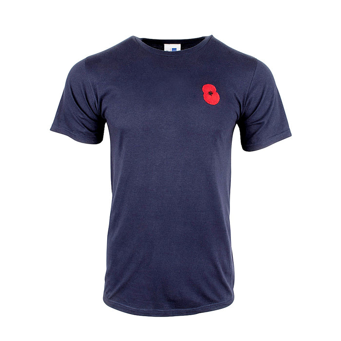 Poppy Embroidered T-shirt