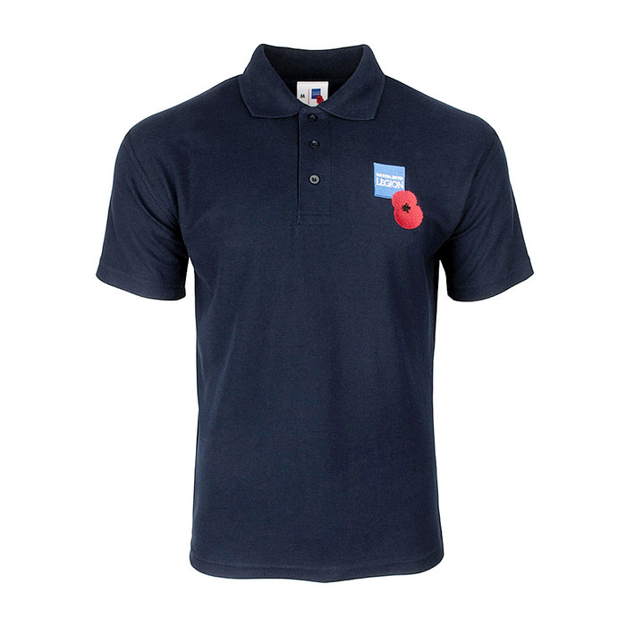 Royal British Legion Navy Polo Shirt