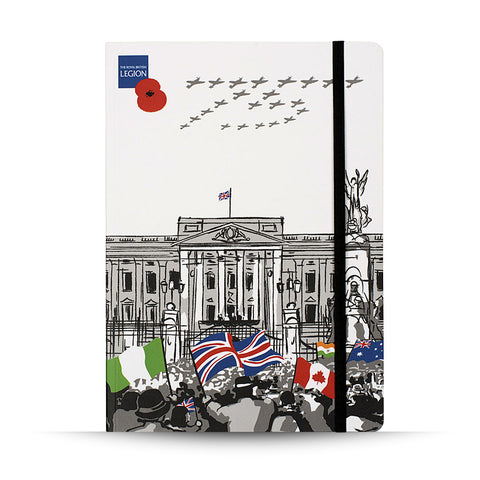 VE Day 75 Notepad