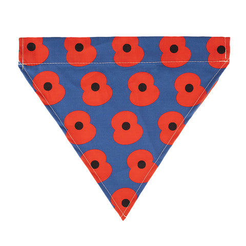 Pet Collar Poppy Bandana Small/Medium
