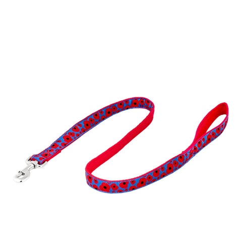 Short Poppy Dog Lead (25mm wide)