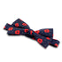 Poppy and Spot Silk Bow Tie