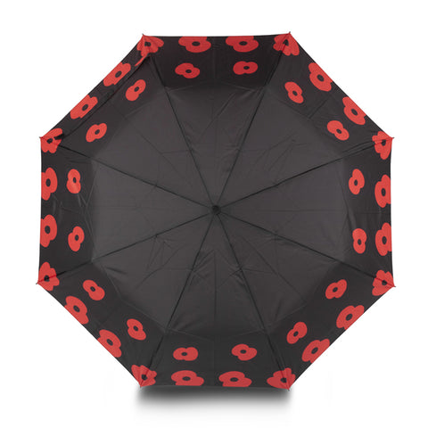 Falling Poppies Umbrella