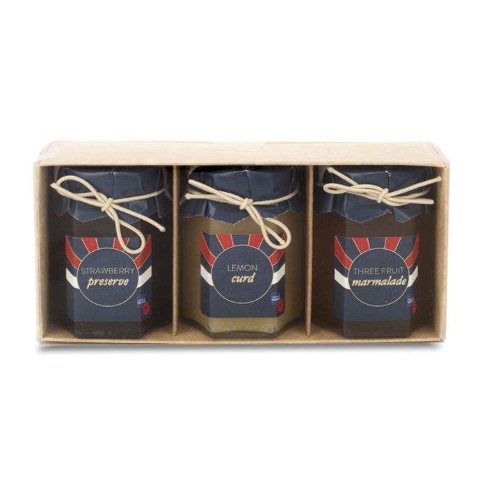 The Royal British Legion Poppy Jam Gift Set
