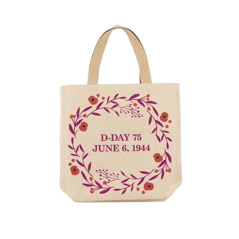 D-Day 75 Anniversary Jute Bag