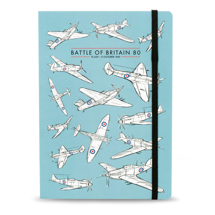 Battle of Britain 80 Notebook