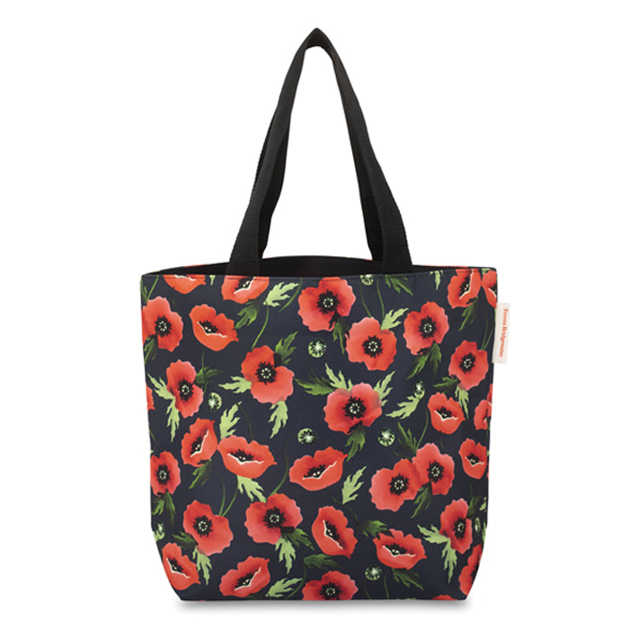 Emma Bridgewater Navy Poppy Shopper Bag