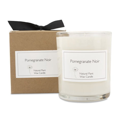 Pomegranate Noir Candle with Gift Box & Bow
