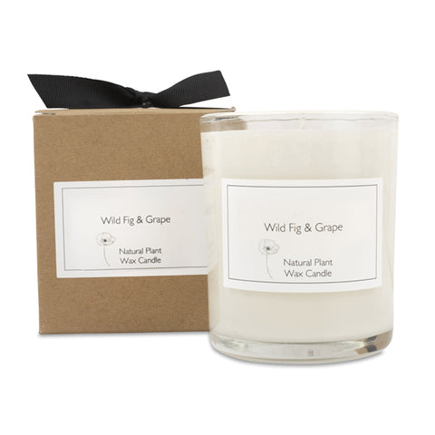 Wild Fig Candle with Gift Box & Bow