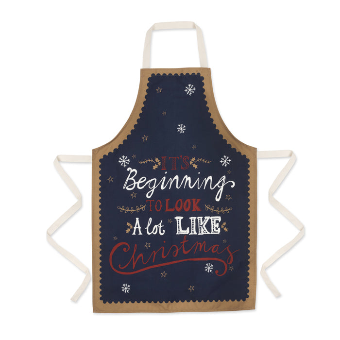 It's Beginning To Look A Lot Like Christmas Apron