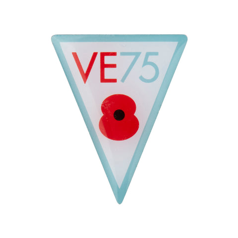 VE Day 75 Lapel Pin