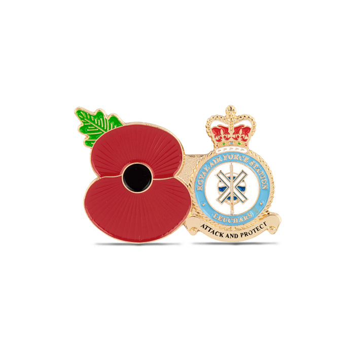 Service Poppy Pin Leuchars Station