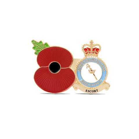 Service Poppy Pin QUEEN'S COLOUR SQUADRON