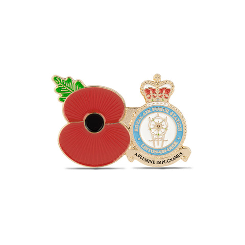 Service Poppy Pin RAF Linton-on-Ouse