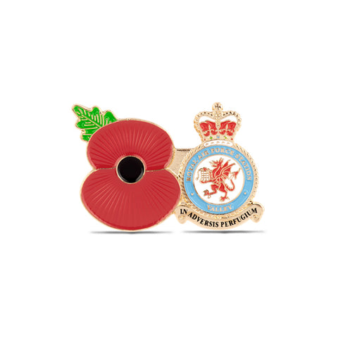 Service Poppy Pin RAF Valley