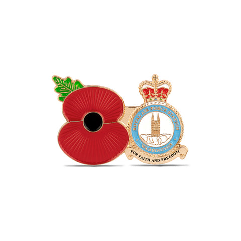 Service Poppy Pin RAF Waddington
