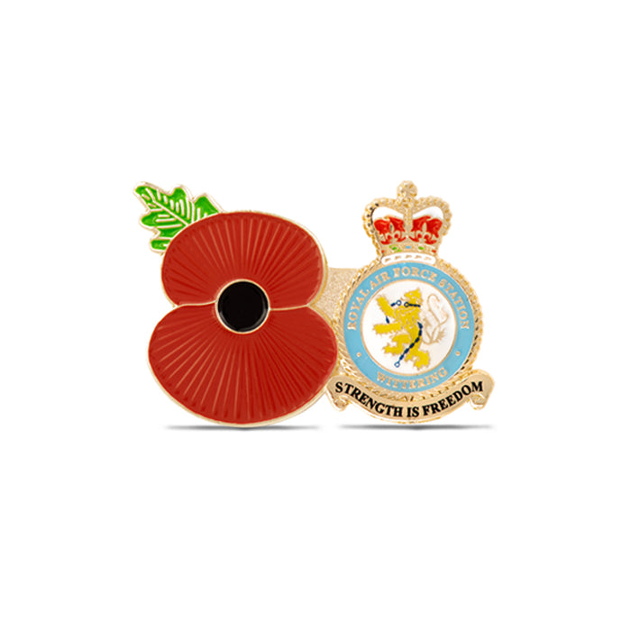 Service Poppy Pin RAF Wittering