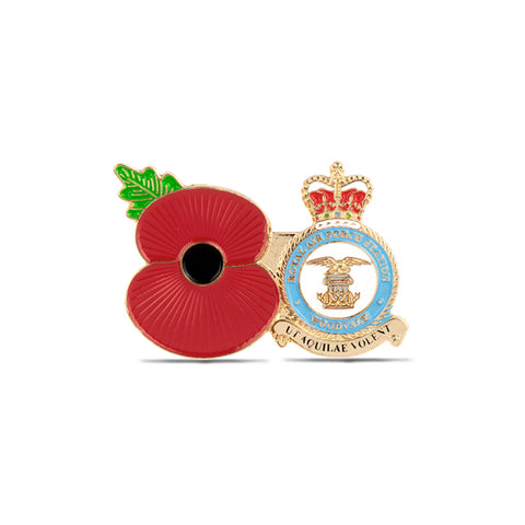 Service Poppy Pin RAF Woodvale