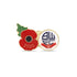 Bolton Wanderers Poppy Football Pin 2020