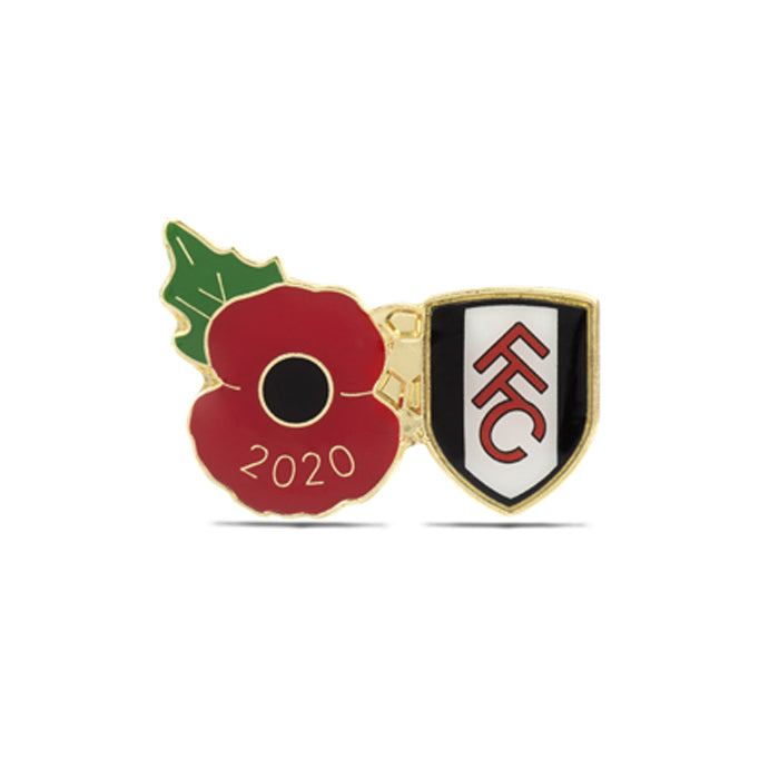 Fulham Poppy Football Pin 2020