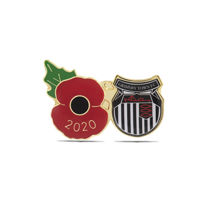 Grimsby Town Poppy Football Pin 2020