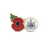 Newcastle United Poppy Football Pin 2020