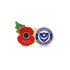 Portsmouth Poppy Football Pin 2020