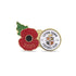 Luton Town Poppy Football Pin 2020