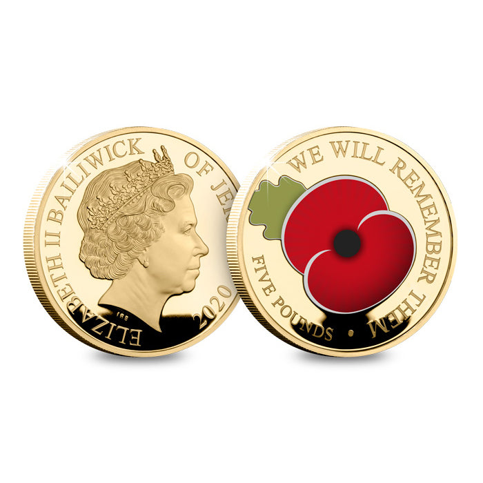 We Will Remember Them Gold Coin