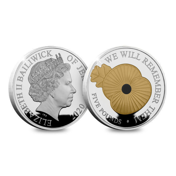 We Will Remember Them Silver Coin