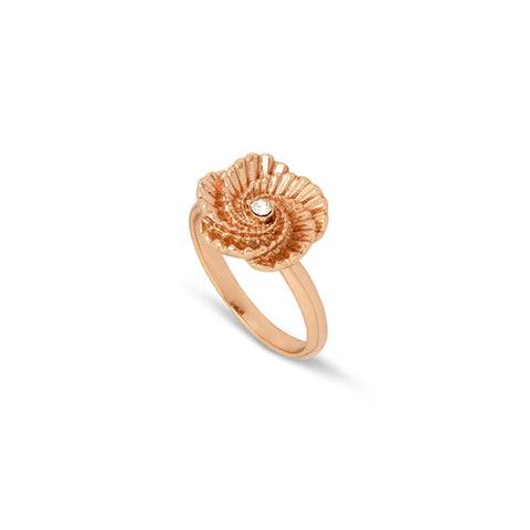 Poppy Swirl Ring