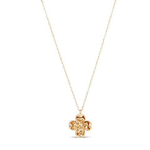 9ct Gold Poppy Necklace