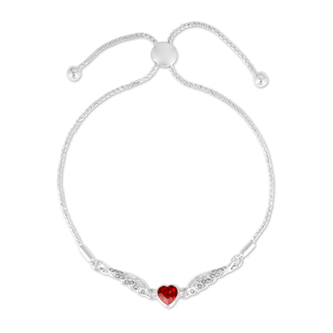 Jackie Moggridge Crystal Heart Bracelet