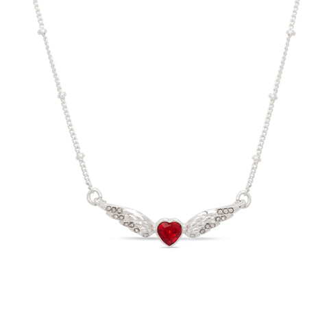 Jackie Moggridge Crystal Heart Necklace