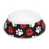 Poppy and Paws Black Pet Bowl