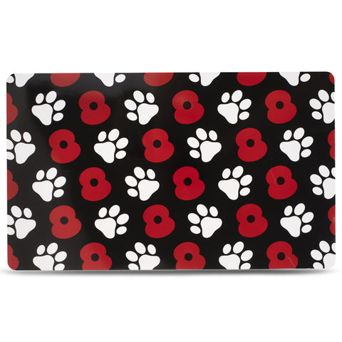 Poppy and Paws Black Feeding Mat
