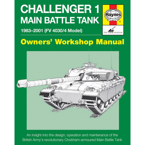 Haynes Manual Challenger 1 Main Battle Tank