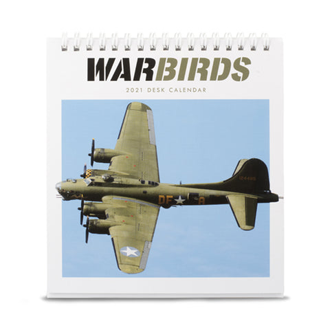 War Birds Desk Calendar 2021
