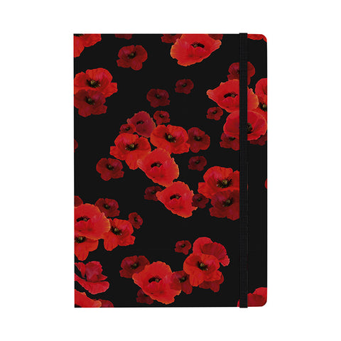 Floating Poppy Notebook