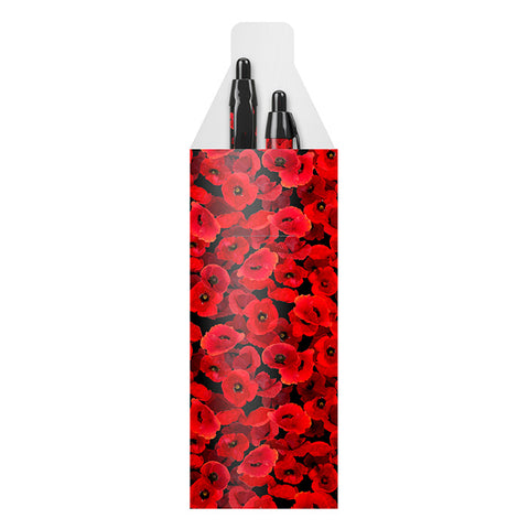 Floating Poppy Pack of 2 Pens